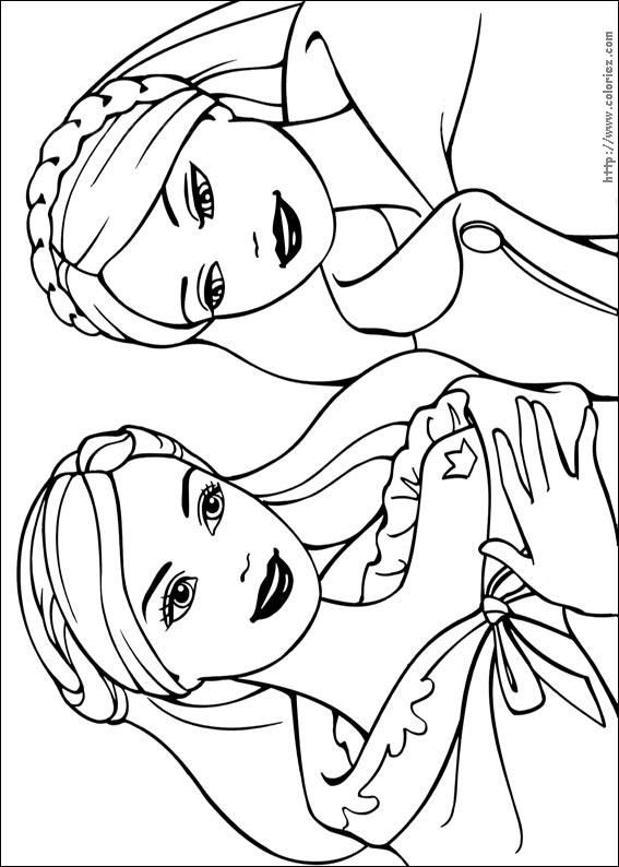 1 Sinif Barbie Boyama Kagitlari 1 Indir 1 Sinif Gorsel Sanatlar