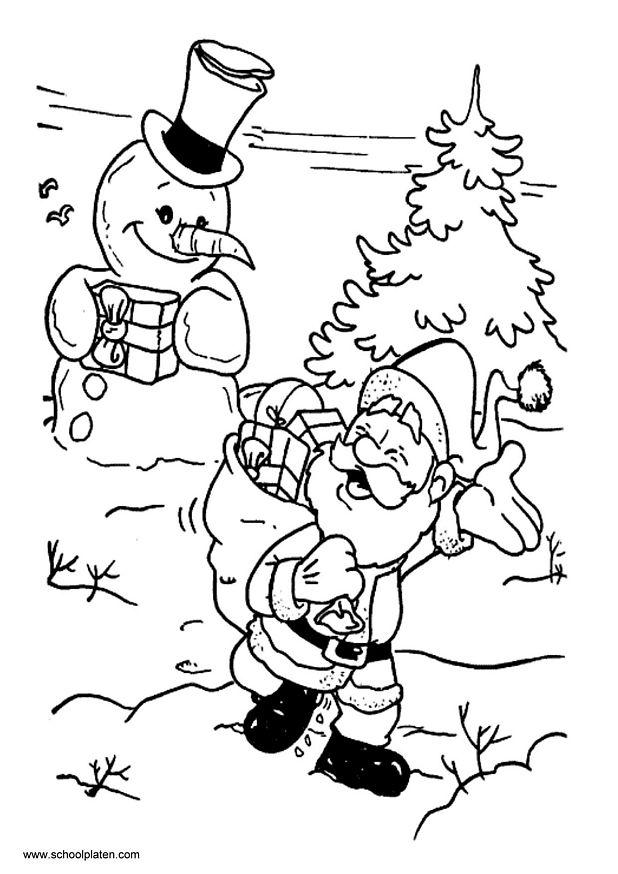 1 Sinif Boyama Kagitlari Noel Baba 6 Indir 1 Sinif Gorsel