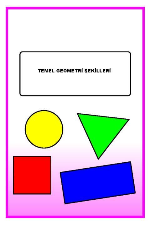 2012 2013 1 Sinif Temel Geometrik Sekiller Karti Indir 1 Sinif